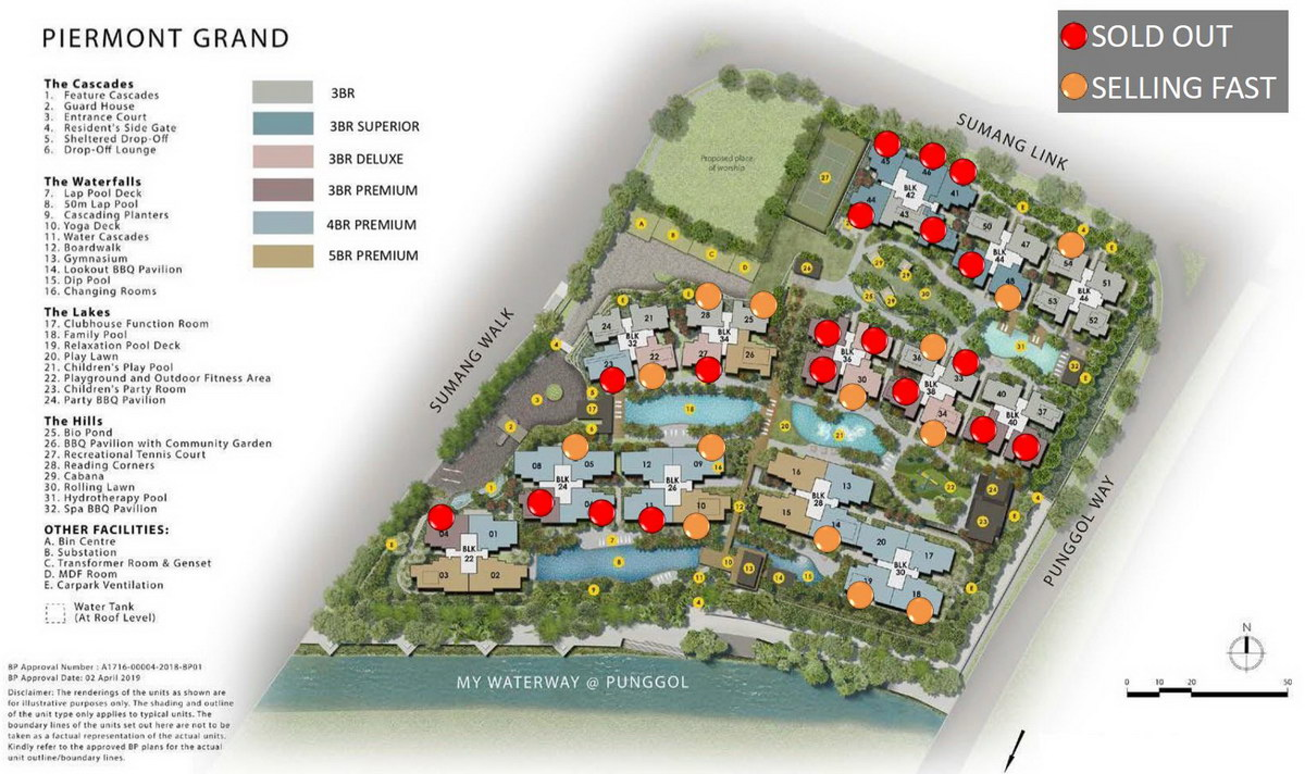 Tampines 10 Property Site Plan with Balance Units 20200823